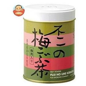 不二食品 不二の梅こぶ茶 50g缶×6個入