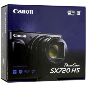 【中古】Canon製 PowerShot SX720 HS レッド 2030万画素 元箱あり