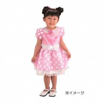 ミニーのハッピー・ヘルパー マイファーストおしゃれドレス ミニーマウス【クリアランス】