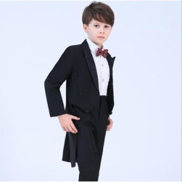 f759a0f9d2b15 ダンス衣装 キッズ 子供 燕尾服スーツ 卒園式 子供服 結婚式 フォーマル キッズダンス