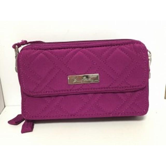 40688e7f6fa0 ベラブラッドリー Vera Bradley 財布 レディース ピンクパープル キルティング コットン【中古】