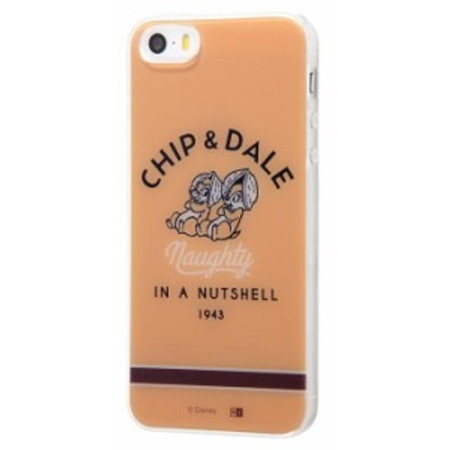 iphone se iphone5s iphohe5 ケース チップとデール ディズニー / いたずら アイフォンse カバー キャラクター TPUケース+背面パネル