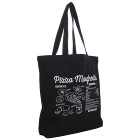 ノーブランド(NO BRAND) PLANE TOTE PIZAA 100-TMZ-011199 BLK (Men's、Lady's、Jr)