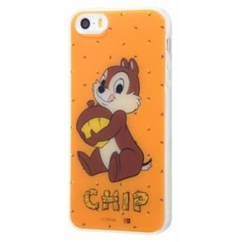 iphone se iphone5s iphohe5 ケース チップとデール ディズニー / チップ アイフォンse カバー キャラクター TPUケース+背面パネル