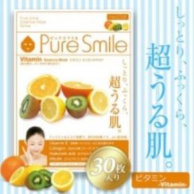 Pure Smile(ピュアスマイル) エッセンス・フェイスマスク ビタミン 1シート入り×30セット