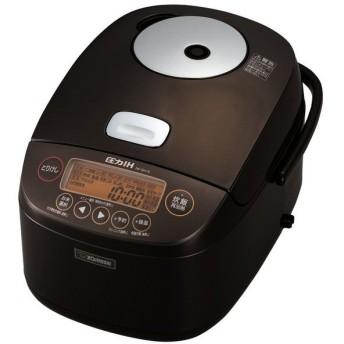 象印 NP-BH18-TA ブラウン 極め炊き [圧力IH炊飯ジャー (一升炊き)] 炊飯器