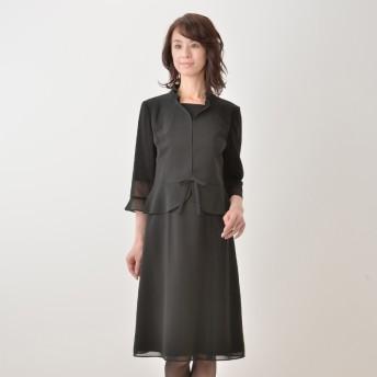 東京ソワール 絽織りウォッシャブルフェミニンアンサンブル
