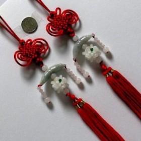 天然石彫刻中国結び飾り 中国雑貨★ 幸せを呼ぶ 風水 開運 癒しグッズ インテリア 置物