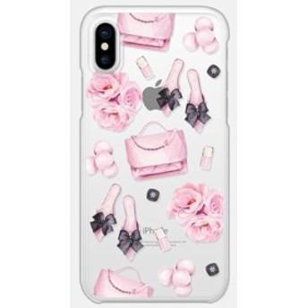 送料無料【Casetify】★ iPhone ケース★ ピンクの鞄と靴