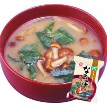 「無添加」なめこ汁(合わせ)8gX40袋セット(アマノフーズのフリーズドライ味噌汁:日本国内