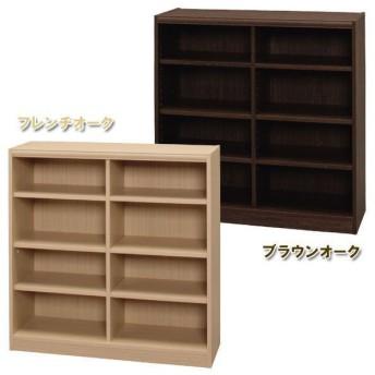 木製フリーラック 可動棚付き 本棚 FRE-9090