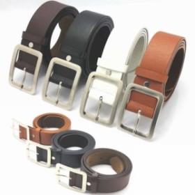 「即納」ベルト 革 メンズ 紳士 ロング ビジネス ブランド サイズ調整可能 一枚革 本革 ピンバックル カジュアル