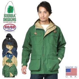 SIERRA DESIGNS シエラデザインズ 7910L 60/40クロス マウンテンパーカ MADE IN USA メンズ マンパ アウター アウトドア アメカジ ブランド アメリカ製