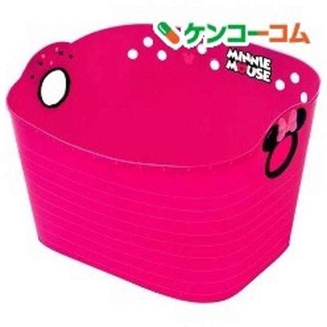 ミニーマウス やわらかバケツ 四角 チェリーピンク SQ43 ( 1コ入 )