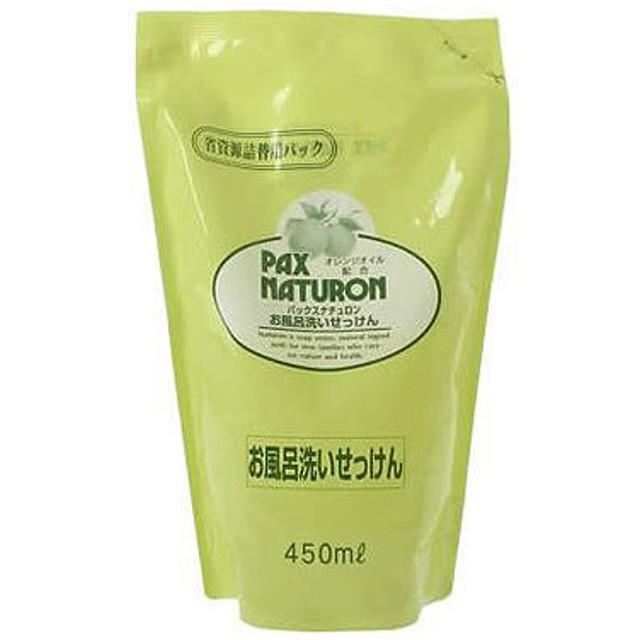 ナチュロン 風呂洗い石けん つめかえ用 450ml
