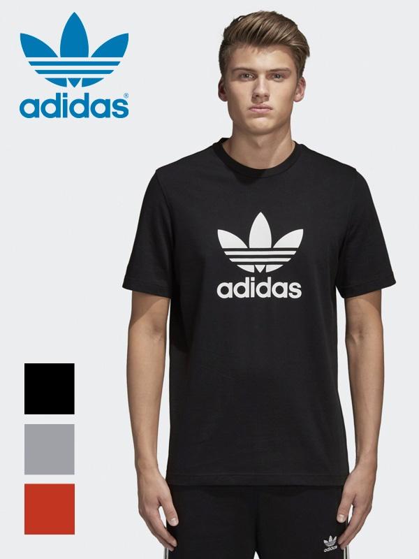 Adidas adidas original トレフォイルメンズ T shirt Trefoil Tee original logo T shirt