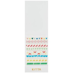 <キングジム> KITTA Slim キッタスリム フェスティバル KITS004
