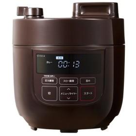 siroca 電気圧力鍋 SP-D131(T) ブラウン