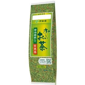 伊藤園 お〜いお茶 宇治抹茶入り玄米茶 1袋(200g)