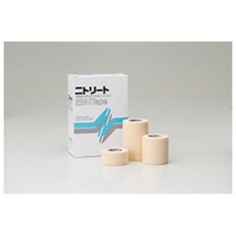ニトリートEBHテープ 2.5cmx4.5m EBH-25 伸縮テープ バンデージ 1箱12巻 ニトムズ【返品不可】
