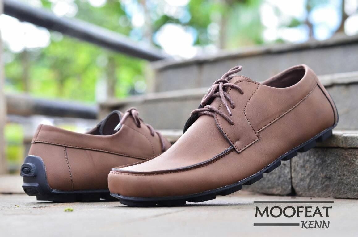 Maviro Footwear Shop Line Moofeat Lunnar Tan Murah Sepatu Casual Slip On Tali Pria Kenn Original Leather Kulit Santai