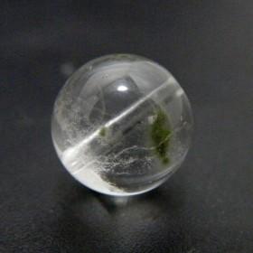 天然石粒売りビーズ1点もの 星入り水晶 ビーズ/貫通穴あり gs-sp-4068