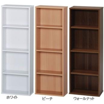 コミックラック 本棚 CORK-9030 ホワイト・ビーチ・ウォールナット アイリスオーヤマ