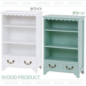 北欧 家具  木製 収納 おしゃれキャビネット MCC-6445WH・MCC-6445GR ホワイト・グリーン(代引不可)