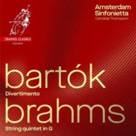 【CD輸入】 Brahms ブラームス / ブラームス:弦楽五重奏曲第2番(弦楽合奏版)、バルトーク:ディヴェルティメント カンディ
