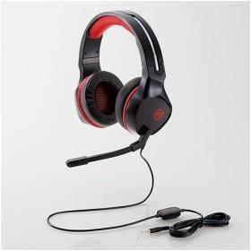 エレコム HS-G01BK ゲーミングヘッドセット ブラック