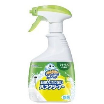 ジョンソン ScrubbingBubbles(スクラビングバブル) 石鹸カスに強いバスクリーナー シトラスの香り 本体 (400ml) 〔お風呂用洗剤〕