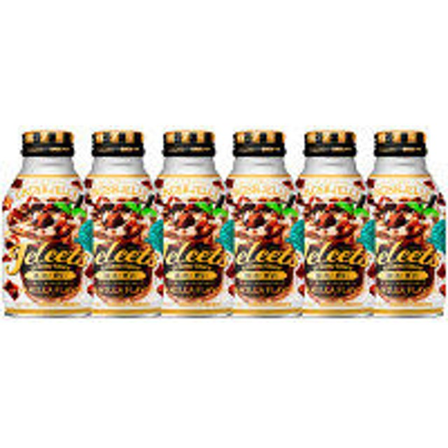 ポッカサッポロ JELEETS(ジェリーツ) コーヒーゼリー 275g ボトル缶 1セット(6缶)