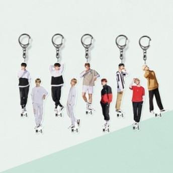 K-POP人気グループのアクリルしおりキーホルダー☆ 防弾少年団 BTS ☆acrylic ★ ジョングク ブイ V ジミン