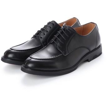 SFW デデス Dedes 様々なスタイルに取り入れやすく通年履ける5ホールUチップシューズ/5246 (ブラック)