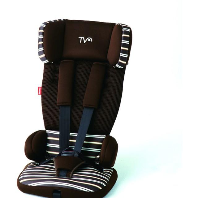 日本育児 チャイルドシート トラベルベストECプラス ブラウンボーダー 4955303423574 チャイルドシート