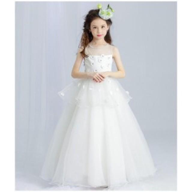 9ef4523b7e1a0 子どもドレス ジュニアドレス フォーマル用 ピアノ発表会 子供ドレス 結婚式 女の子 ドレスキッズ
