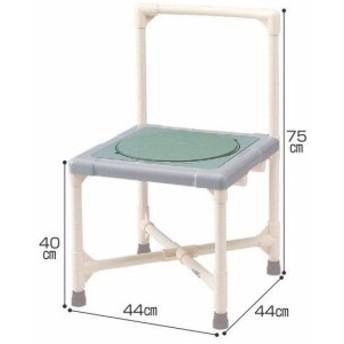 シャワーチェア ベンチシャワー 介護用品 風呂椅子 シャワーいす ターンテーブルタイプ 背もたれ型 CAT-0301 座面回転