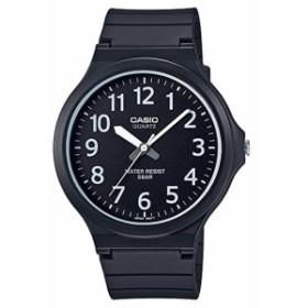 ゆうパケット対応 CASIO カシオ スタンダード チープカシオ チプカシ ユニセックス 腕時計 ブラック/ホワイト MW-240-1B