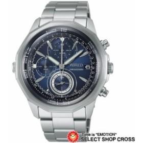 【お取寄せ】 送料無料 SEIKO セイコー WIRED THE BULE - SKY ワイアード クオーツ メンズ 腕時計 AGAW419 シルバー