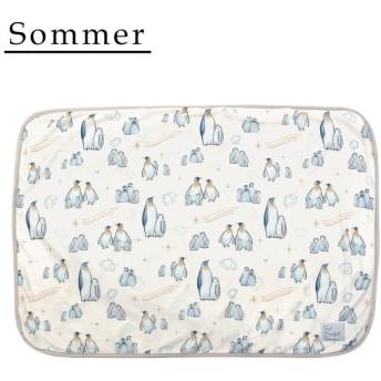 Sommer(ソメル) 冷感ひざかけ ペンギン 71813