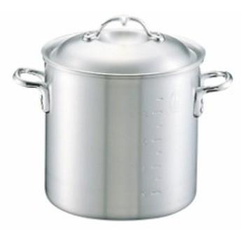 寸胴鍋 日本製 中尾アルミ ニューキングポット寸胴鍋 目盛付15cm 2.7L アルミ鍋 業務用鍋