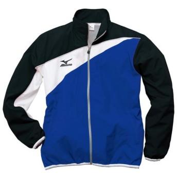 MIZUNO SHOP [ミズノ公式オンラインショップ] トレーニングクロスシャツ[ユニセックス] 29 ブルー×ブラック N2JC7020
