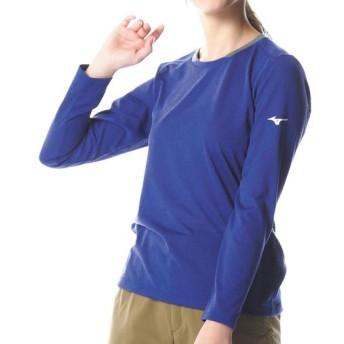 MIZUNO SHOP [ミズノ公式オンラインショップ] ドライベクターライトインナー長袖クルーネックシャツ[レディース] 25 サーフブルー A2MA8225