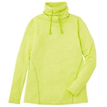 MIZUNO SHOP [ミズノ公式オンラインショップ] ロングTシャツ(レディース) 37 ライムグリーン J2MA5911