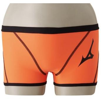 MIZUNO SHOP [ミズノ公式オンラインショップ] 競泳練習用ショートスパッツ[メンズ] 53 オレンジクラウンフィッシュ N2MB8063
