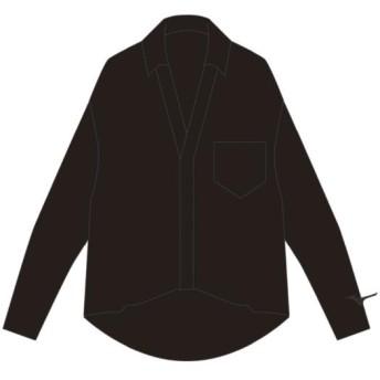 MIZUNO SHOP [ミズノ公式オンラインショップ] ボタンダウンシャツ[レディース] 09 ブラック D2MA8213