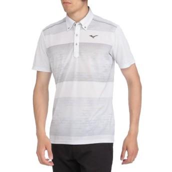 MIZUNO SHOP [ミズノ公式オンラインショップ] ソーラーカットプリントシャツ[メンズ] 01 ホワイト 52MA8008