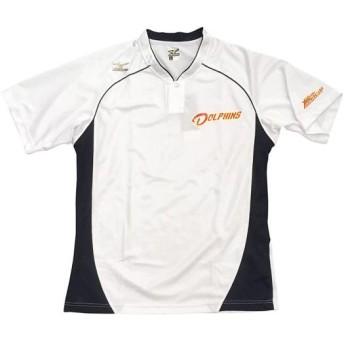 MIZUNO SHOP [ミズノ公式オンラインショップ] メジャーセカンドベースボールシャツ[ユニセックス] 01 ホワイト 12JC8L97
