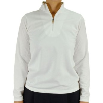 MIZUNO SHOP [ミズノ公式オンラインショップ] ソーラーカット長袖シャツ[レディース] 01 ホワイト C2JA5253