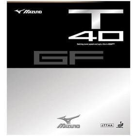 MIZUNO SHOP [ミズノ公式オンラインショップ] 卓球ラバー GF T40 62 レッド 83JRT540